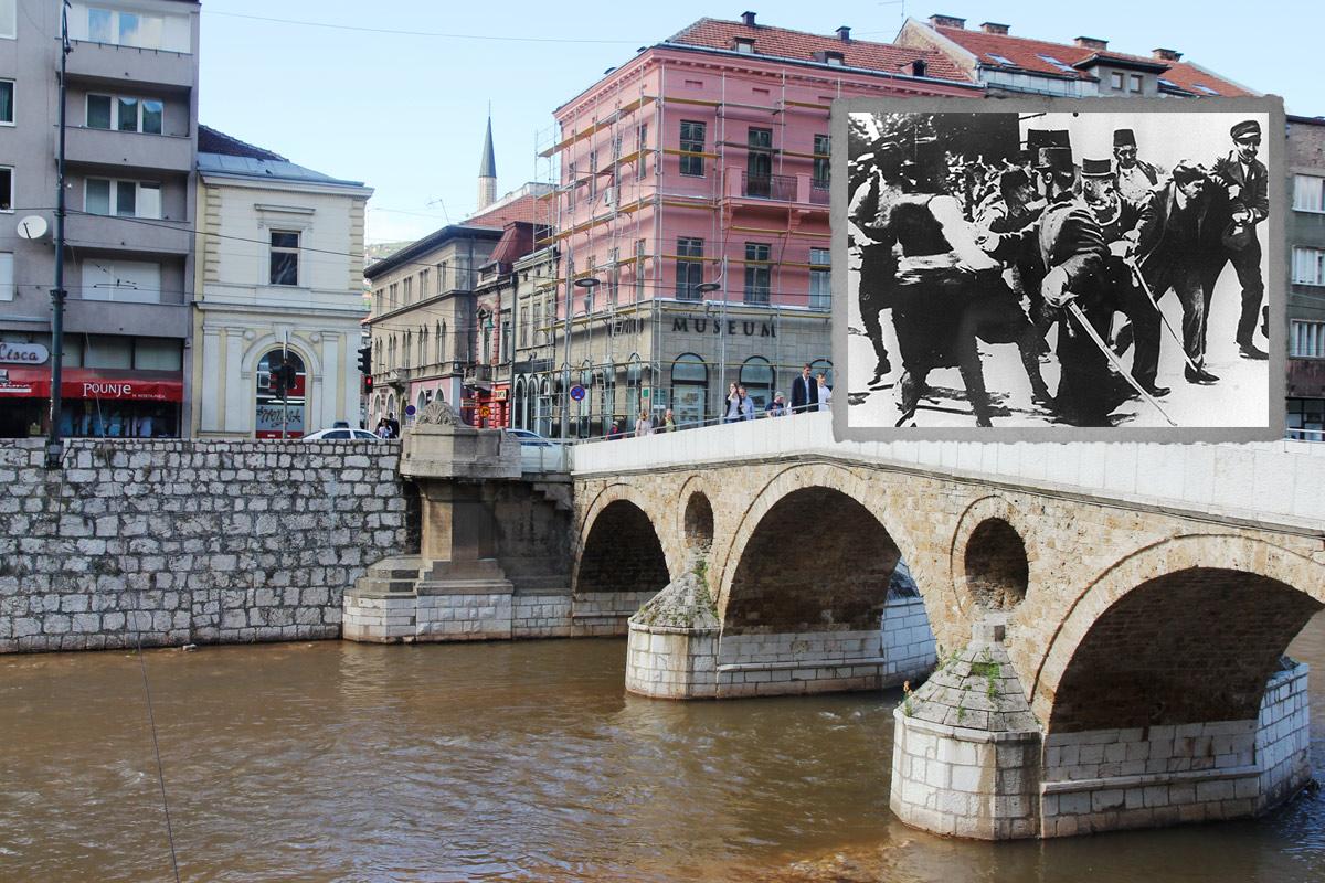 June 28 1914 In Sarajevo Two Gunshots One World War