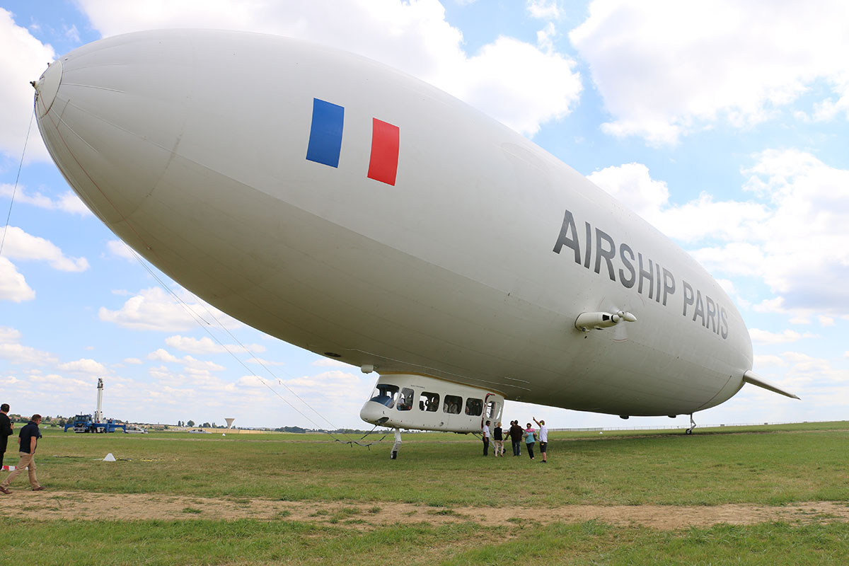 The Zeppelin is writing a new chapter of history more than 110 years after  its maiden flight. As summer kicks off, a company is offering a bird's-eye  views ...